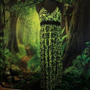 Apt 9 Maxi Halter Dress Size XL
